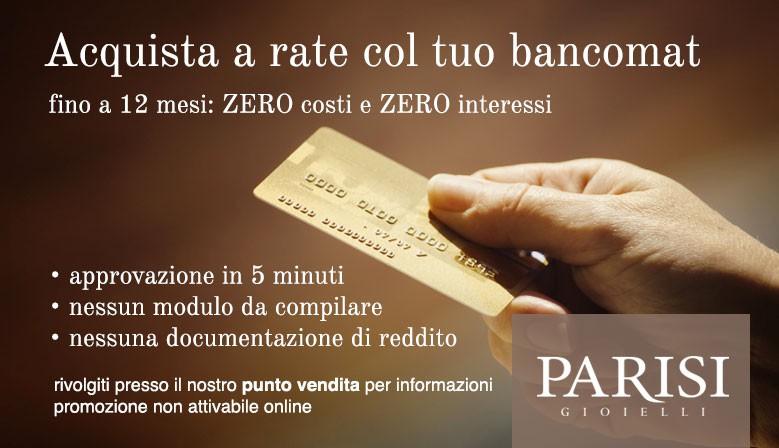 Acquista a rate col tuo bancomat